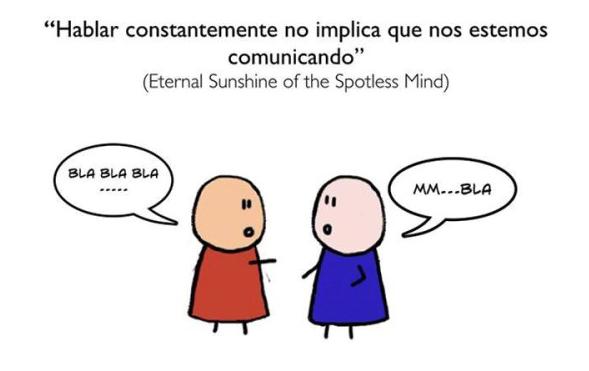 viñeta comunicación actual