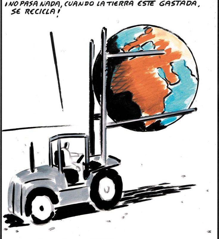 el roto medio ambiente