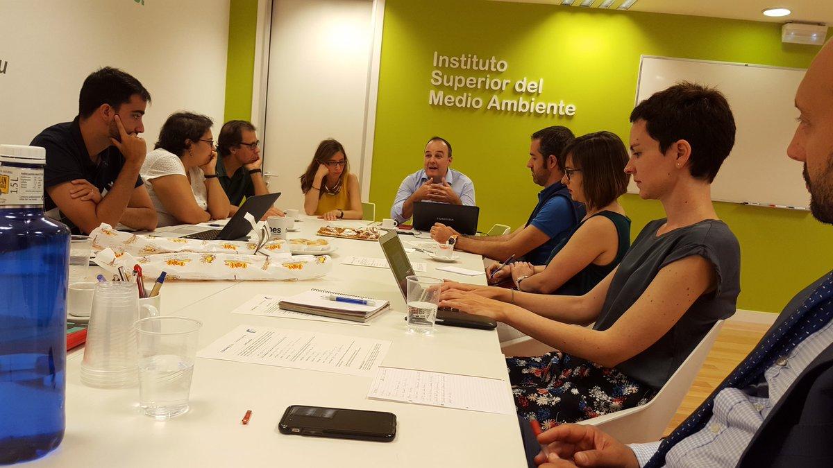 Grupo de trabajo de #emprendedores. Fuente CONAMA.