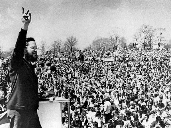 celebracion dia de la tierra en 1970