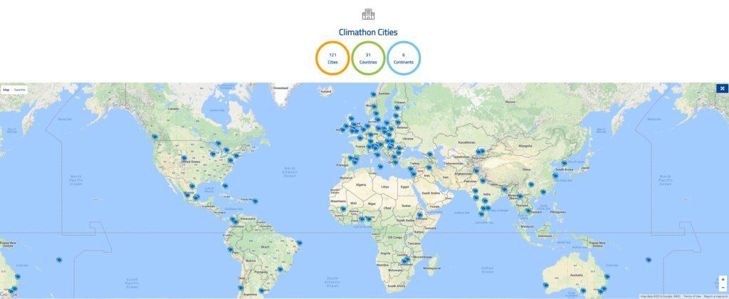 climathon ciudades 2017
