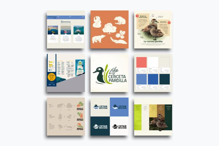Diseño gráfico proyectos europeos